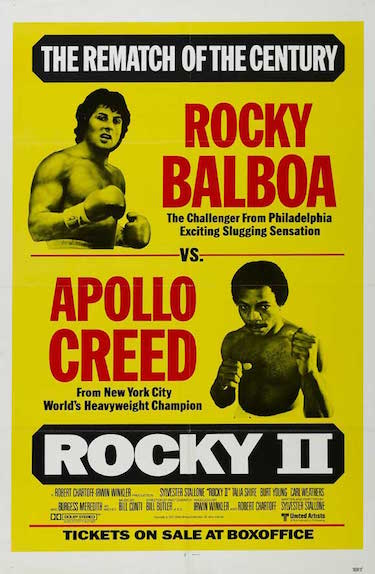 Rocky 2 Poster