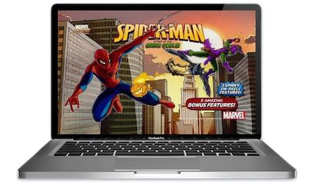 Spiderman Green Goblin Slots Main Image