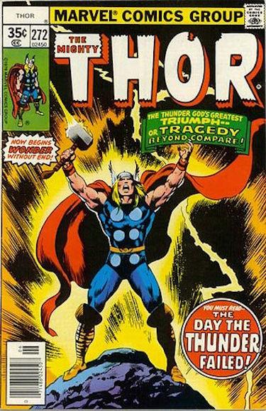 Thor Comic #272