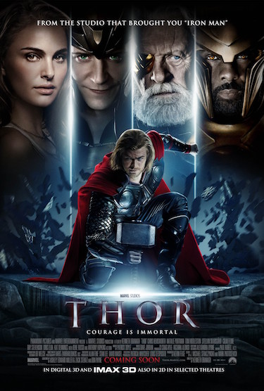 Original Thor Movie Poster