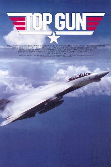 Top Gun Jet Poster