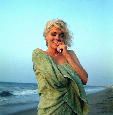 Marilyn on the Beach