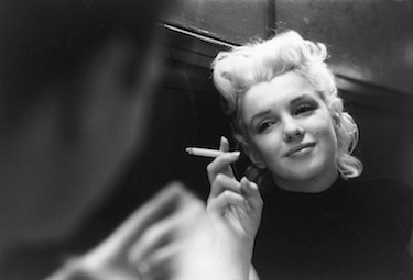 Marilyn Smoking in NYC