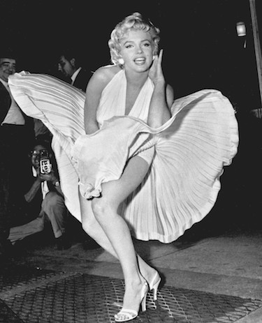 Marilyn Monroe White Dress