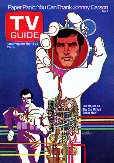 Six Million Dollar Man TV Guide