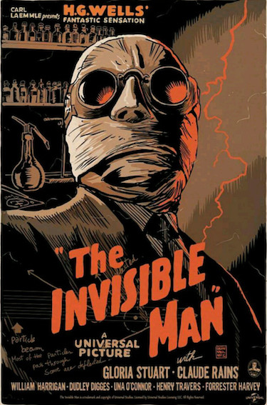 The Invisible Man by Francesco Francavailla