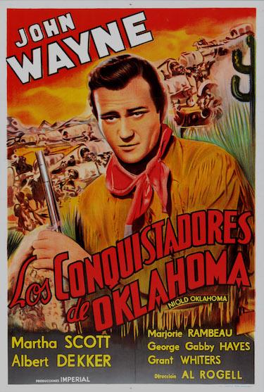 Los Conquistadores de Oklahoma Poster