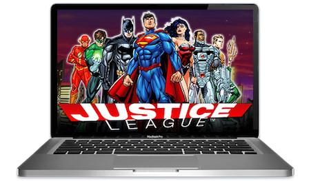 Justice League Slots Main Image