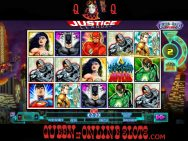 Justice League Slots Reels