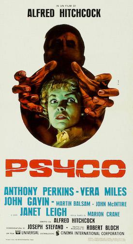 Psycho Italian Movie Poster