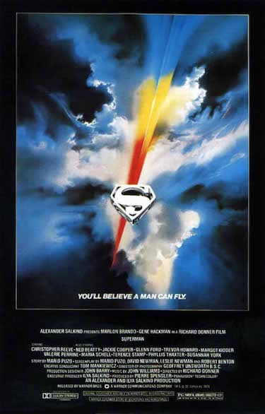 Superman The Movie Original Poster