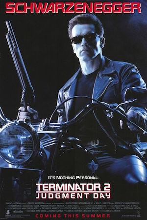 Terminator 2 Original Poster