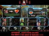 Last Son of Krypton Slots Paytable