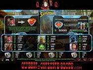 Last Son of Krypton Slots Paytable