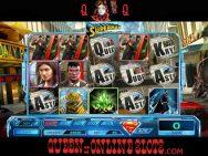 Last Son of Krypton Slots Reels