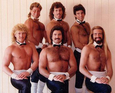 Chippendales Dancers 1980s