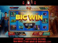 Man of Steel Slots Big Win