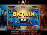 Man of Steel Slots Big Win
