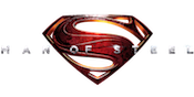 Man of Steel Slots Large Logo
