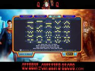 Man of Steel Slots Paylines