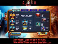 Man of Steel Slots Paytable