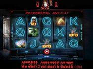 Paranormal Activity Slots Reels