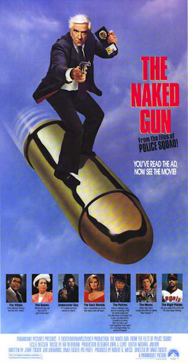 The Naked Gun Original Poster