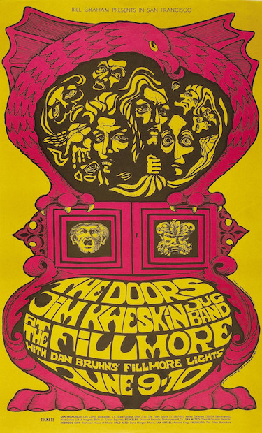 Doors at Fillmore Poster