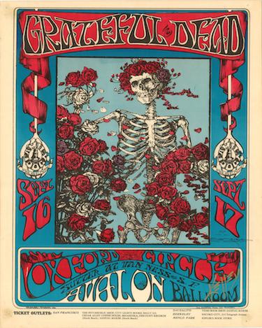 Grateful Dead Tour Poster