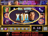Red Alert Slots Spock Win Multiplier