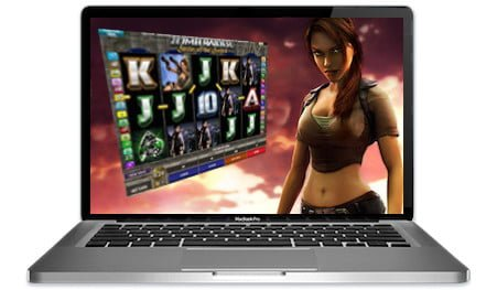 Tomb Raider Secret Sword Slots Main Image