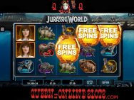 Jurassic World Slots Free Spins