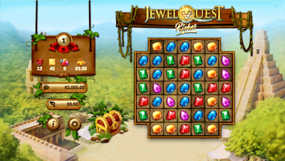 Jewel Quest Riches Slots Screenshot