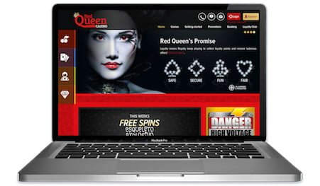 Red Queen Casino Main Image