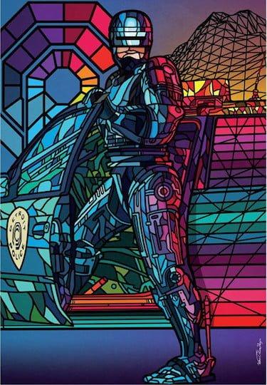 RoboCop Pastels