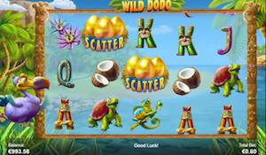 Wild Dodo Slots Reel Screenshot