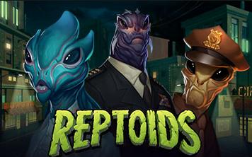 Reptoids Slot Game