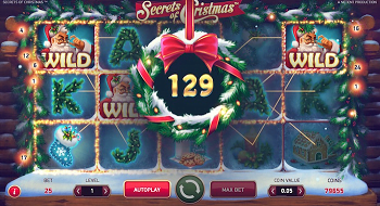 Secrets of Christmas Slot Reels