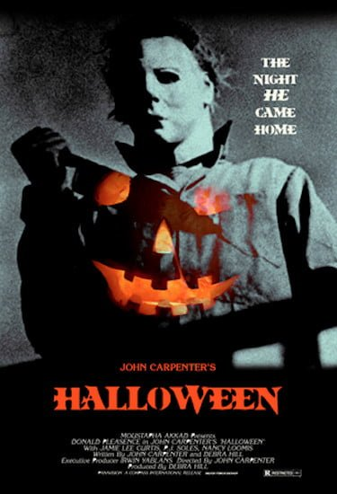Halloween Poster the Night He Came Home