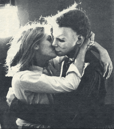Laurie Kissing Michael