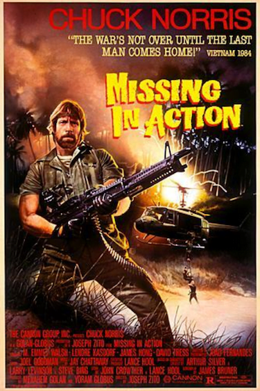 Missing in Action Movie Poster