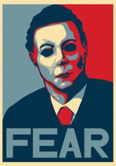 Michael Myers Fear Poster