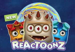 Reactoonz Slots Promo