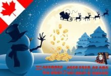 Canadian Christmas Slots Bonus