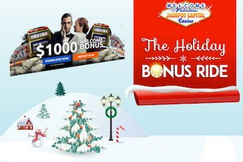 Holiday Bonus Ride Jackpot Capital