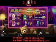 Ted Slots Paytable
