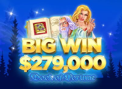 Big Win Book of Fortune at BitStarz