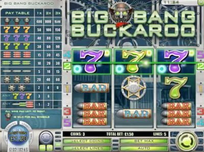 Big Bang Buckaroo Screenshot