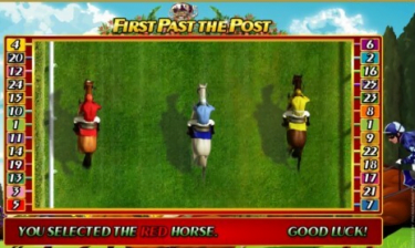 First Past the Post Slot Game Play
