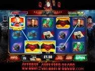 Batman v Superman Slots Reels